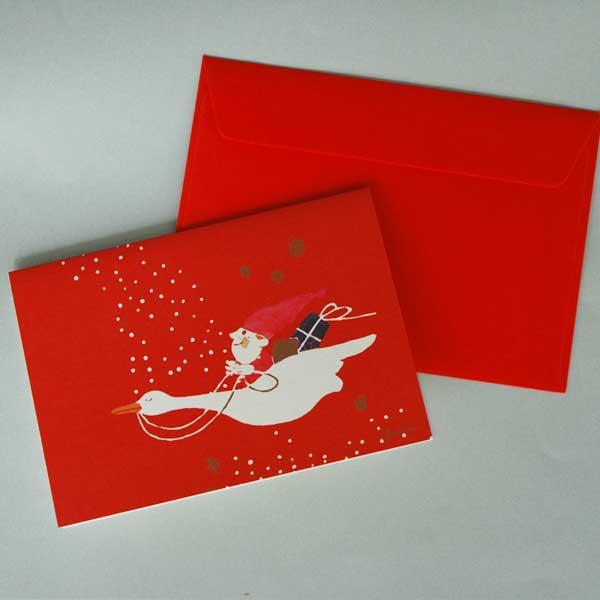 【販売終了】Ib Antoni (イブ・アントーニ) X'mas Greetingcardクリスマスグリーティングカード Train(トレイン)