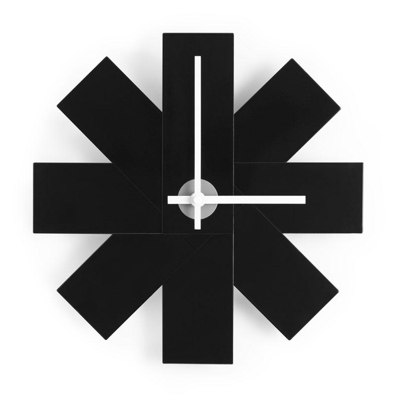 Watch Me Wall Clock (ウォッチミー)ブラック 壁掛け時計 normann COPENHAGEN(ノーマンコペンハーゲン)