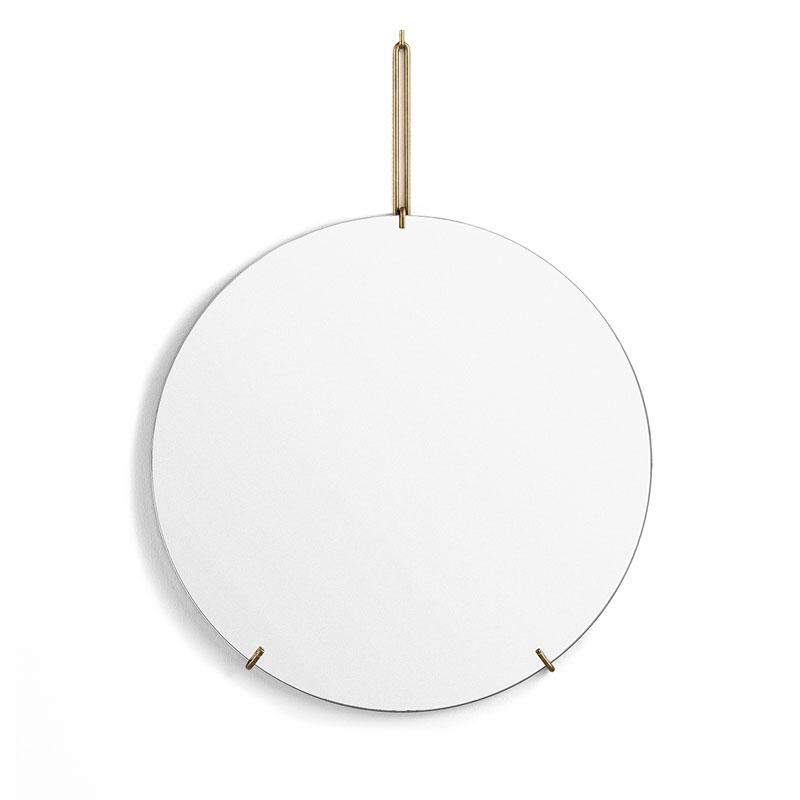 Wall Mirror 30cm(ウォールミラー)ブラス(真鍮) 壁掛けミラー MOEBE(ムーベ) デンマーク