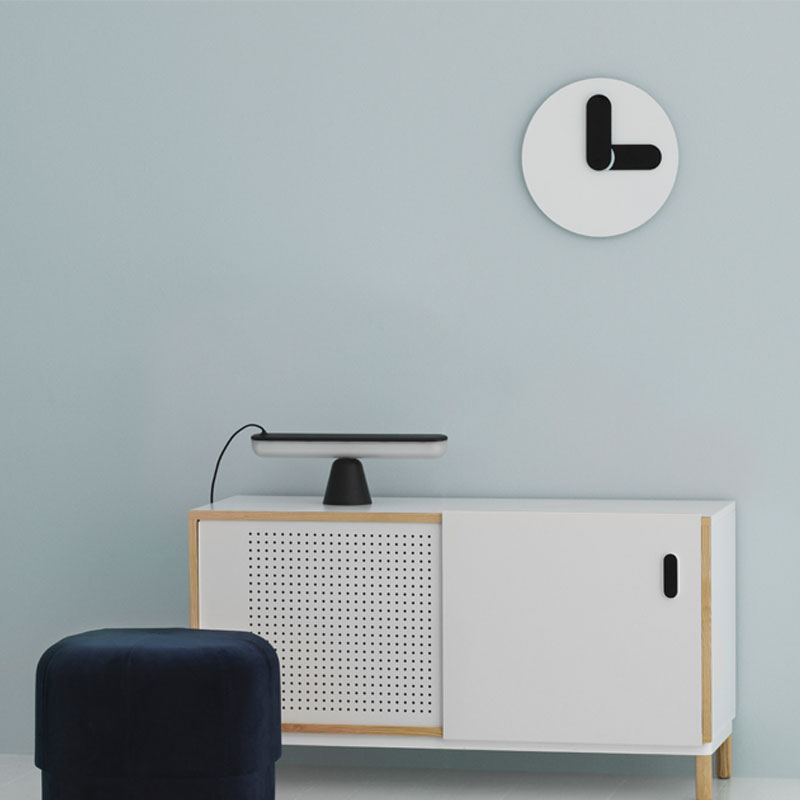 Bold Wall Clock(ボールド・ウォールクロック)ホワイト 壁掛け時計 normann COPENHAGEN(ノーマンコペンハーゲン)