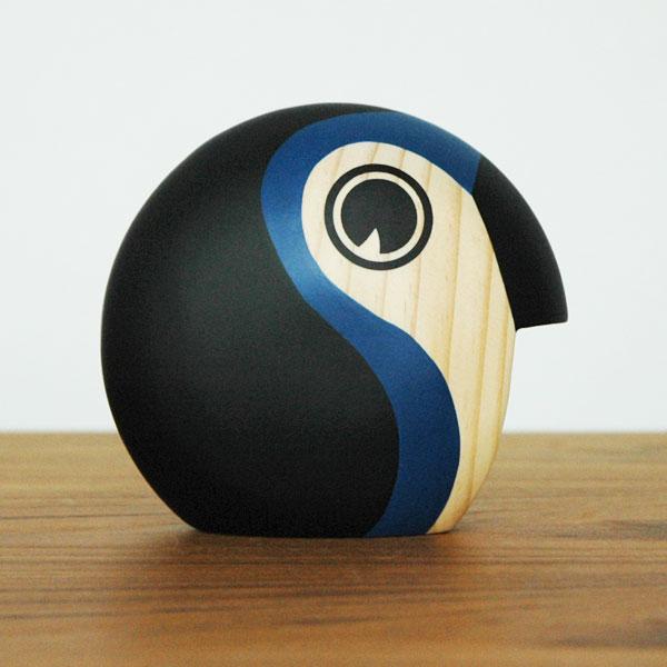 Discus(ディスカス)スモール Bird ブルー ARCHITECTMADE(アーキテクトメイド)デンマーク 北欧木製オブジェ・置物