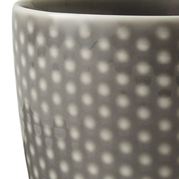Blond Mug Grayマグカップ グレー・ドット DESIGN HOUSE stockholm(デザインハウス・ストックホルム)