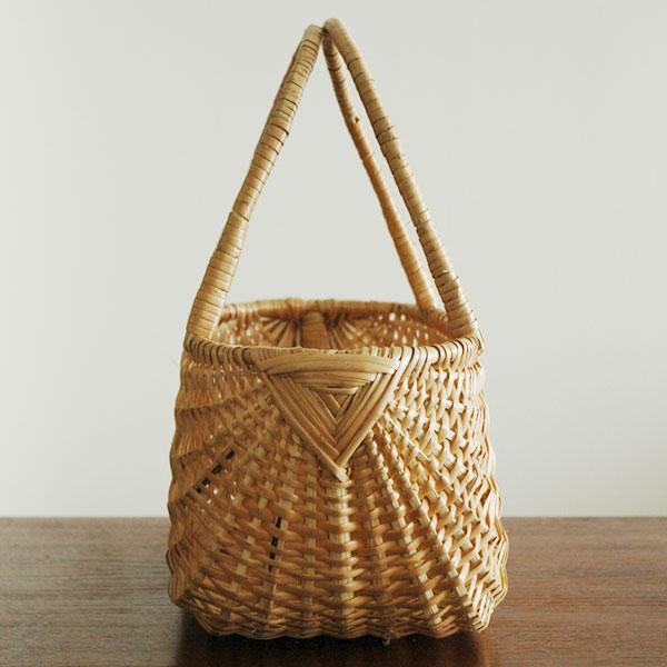 RIGA BASKET(リガバスケット)ピクニックバッグ カゴ・持ち手付 柳(ヤナギ) ラトビア製 ハンドメイド