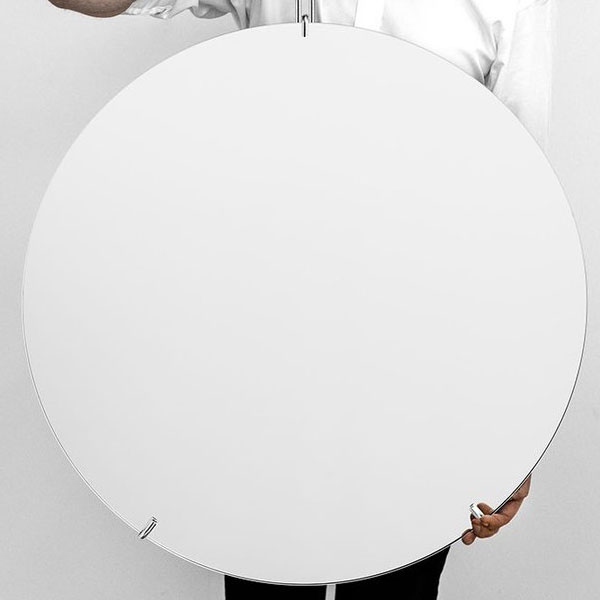 Wall Mirror 70cm(ウォールミラー)クローム 壁掛けミラー MOEBE(ムーベ) デンマーク