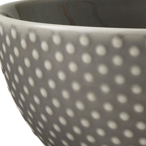 Blond Small Bowl(ブロンド スモールボウル) グレー・ドット DESIGN HOUSE stockholm(デザインハウス ストックホルム)