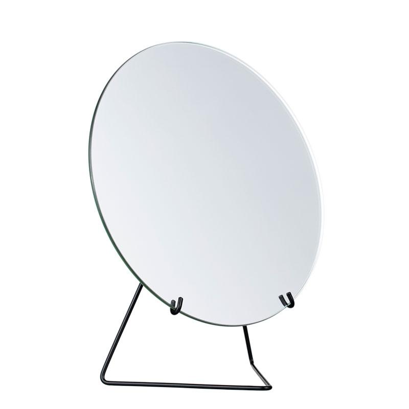 Standing Mirror(スタンディングミラー) 20cm ブラック 卓上ミラー MOEBE(ムーベ) デンマーク