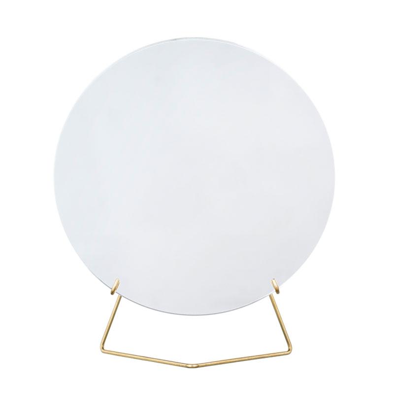 Standing Mirror(スタンディングミラー) 20cm ブラス(真鍮) 卓上ミラー MOEBE(ムーベ) デンマーク