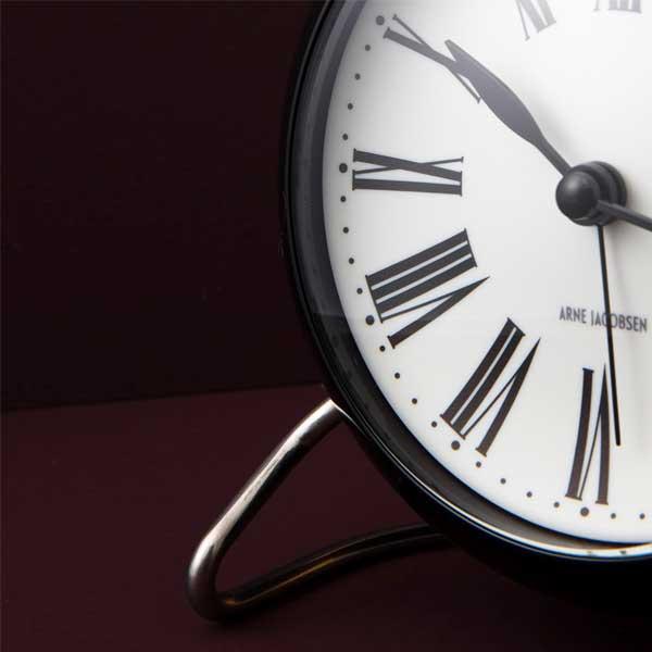 ARNE JACOBSEN TableClock Romanアルネヤコブセン・テーブルクロック・ローマン 置き時計 ROSENDAHL COPENHAGEN (ローゼンダール社 コペンハーゲン)