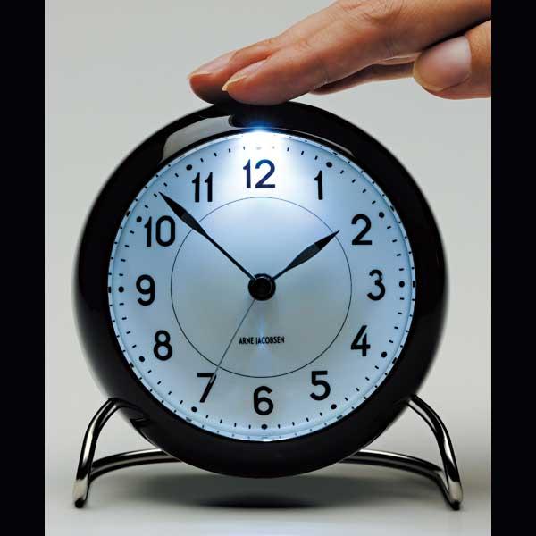 ARNE JACOBSEN TableClock CityHallアルネヤコブセン・テーブルクロック・シティホール 置き時計 ROSENDAHL COPENHAGEN (ローゼンダール社 コペンハーゲン)