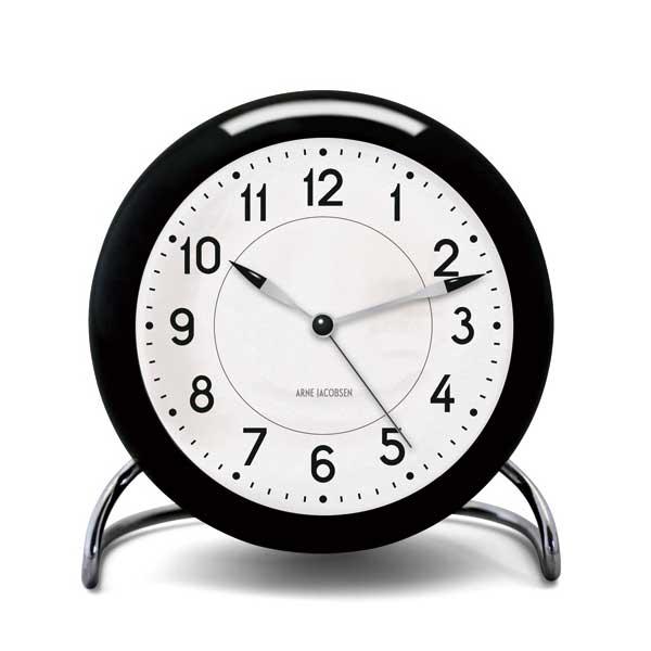 ARNE JACOBSEN TableClock STATIONアルネヤコブセン・テーブルクロック・ステーション 置き時計 ROSENDAHL COPENHAGEN (ローゼンダール社 コペンハーゲン)