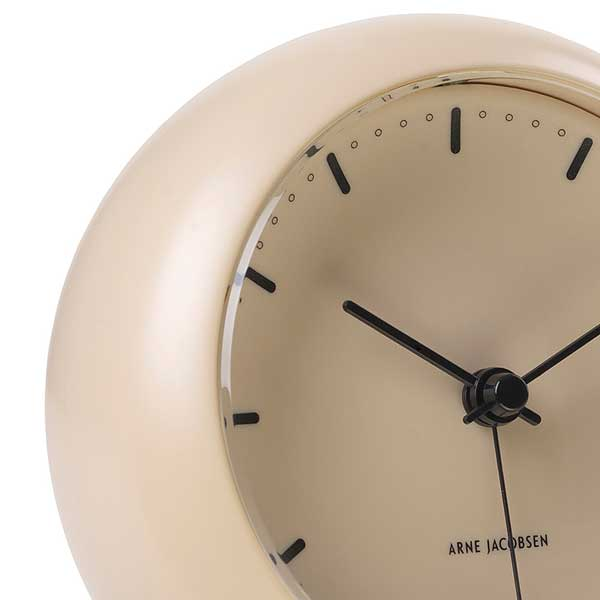 ARNE JACOBSEN TableClock CityHall Sandy Beigeアルネヤコブセン・テーブルクロック・シティホール サンディベージュ 置き時計 ROSENDAHL COPENHAGEN (ローゼンダール社 コペンハーゲン)43693