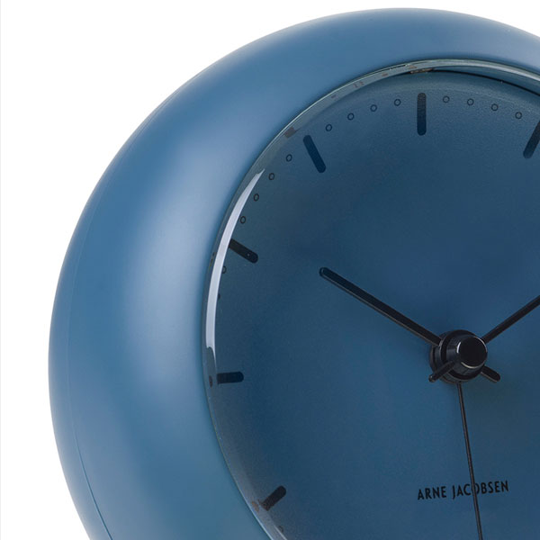 ARNE JACOBSEN TableClock CityHall STONE BLUE アルネヤコブセン・テーブルクロック・シティホール ストーンブルー 置き時計 ROSENDAHL COPENHAGEN (ローゼンダール社 コペンハーゲン)43691