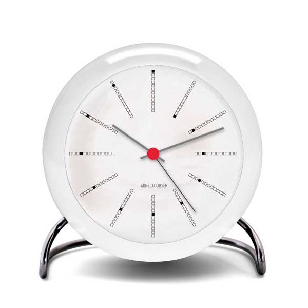 ARNE JACOBSEN TableClock Bankersアルネヤコブセン・テーブルクロック・バンカー 置き時計 ROSENDAHL COPENHAGEN (ローゼンダール社 コペンハーゲン)