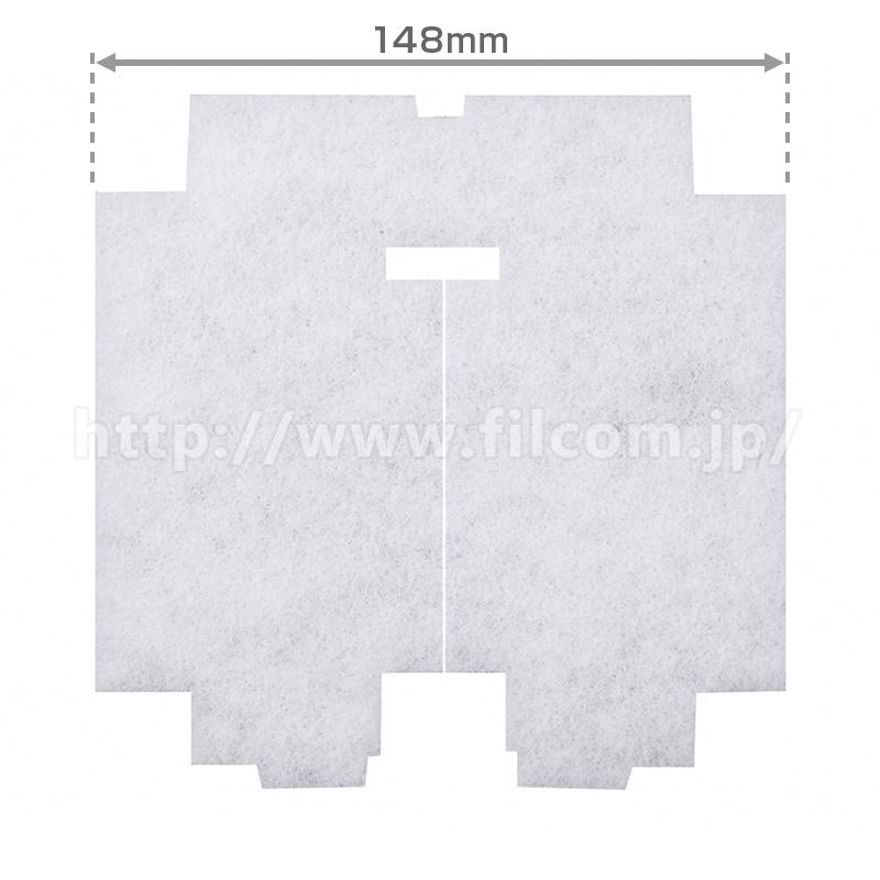 φ148×151 異形(5枚入)給気口・吸気口・24時間換気口フィルター
