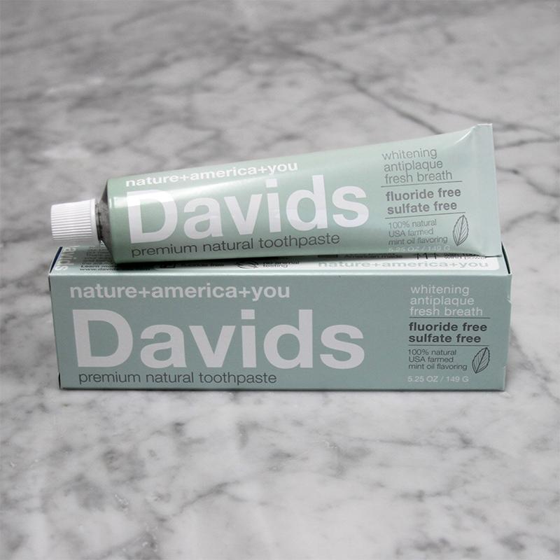 Davids ホワイトニングトゥースペースト