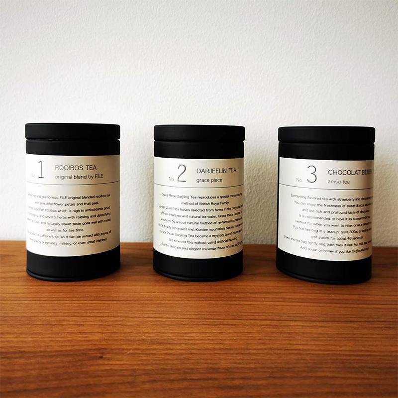 FILE Select Tea 03 ショコラベリー