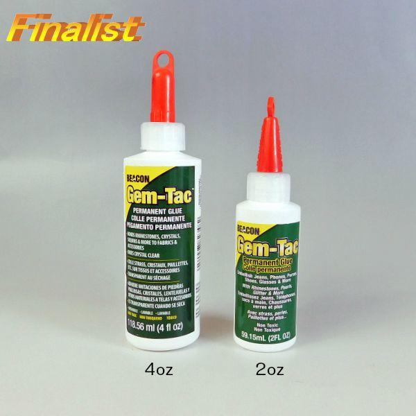 ジェムタック GEM-TAC 2oz 59.15ml 接着剤 スワロフスキーボンド