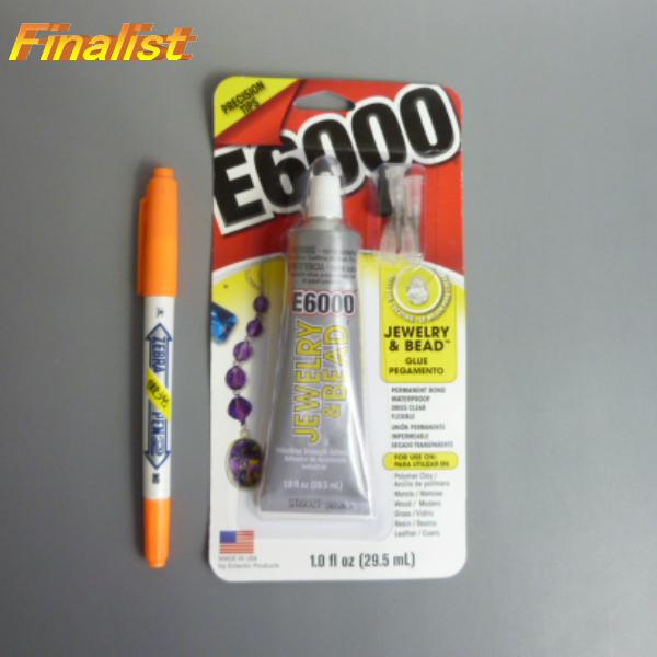 E6000 接着剤 JEWELRY&BEAD 1oz チップ付き  ラインストーン、スワロフスキー接着剤