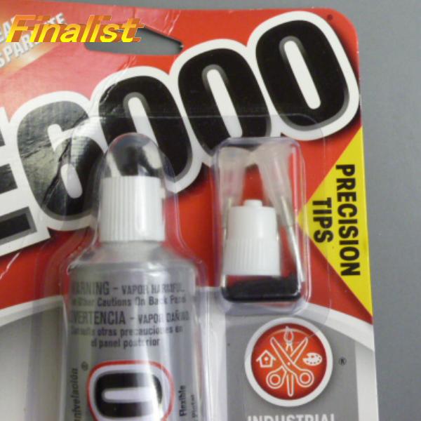 E6000 接着剤 1oz チップ付き スワロフスキー ラインストーン用ボンド
