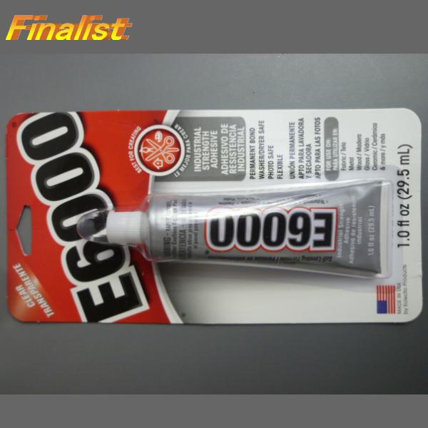 E6000 1oz チップ無し アクセサリーボンド スワロフスキー用接着剤