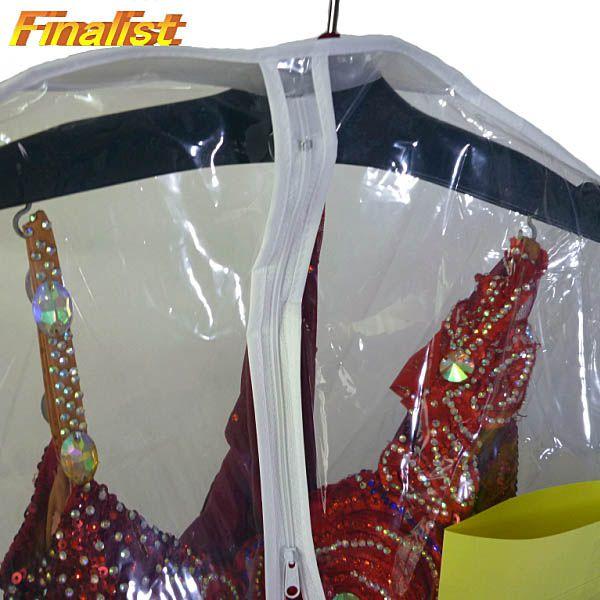 ドレスカバー ウェディングドレスカバー  ビニール ロング 180cm 社交ダンス