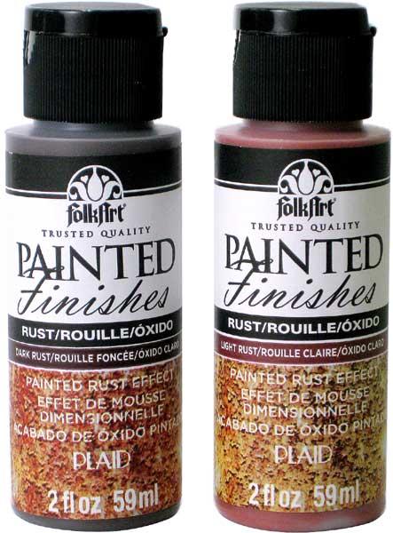 ペイントテッドフィニッシュキット-Rust(さび)2色セット 201-5066