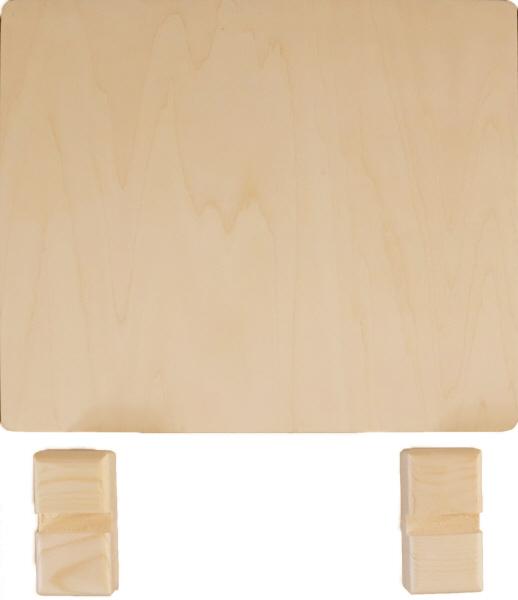 トールペイント用無塗装白木素材 ミニ衝立(中) 250×220 cw-1207