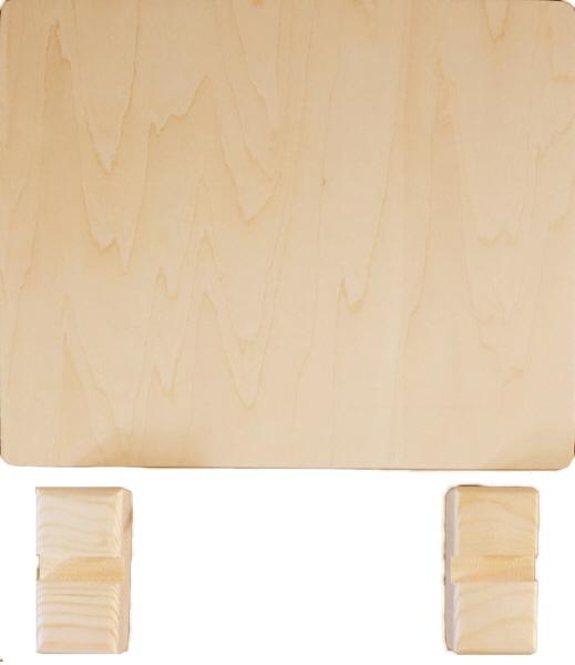 トールペイント用無塗装白木素材 ミニ衝立(小) 210×180 cw-1208
