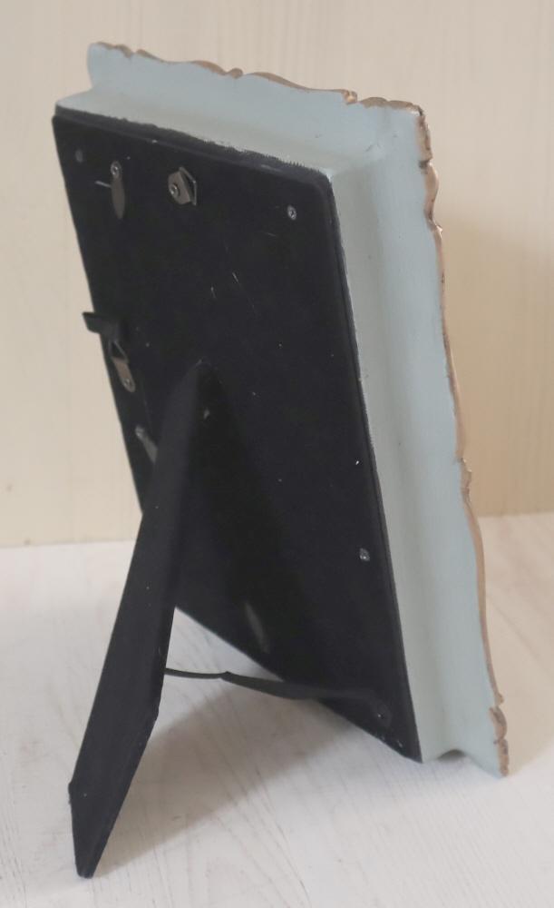 トールペイント エレガントフレーム FF-003 ブルーミスト・ブロンズ アンティーク仕上げ