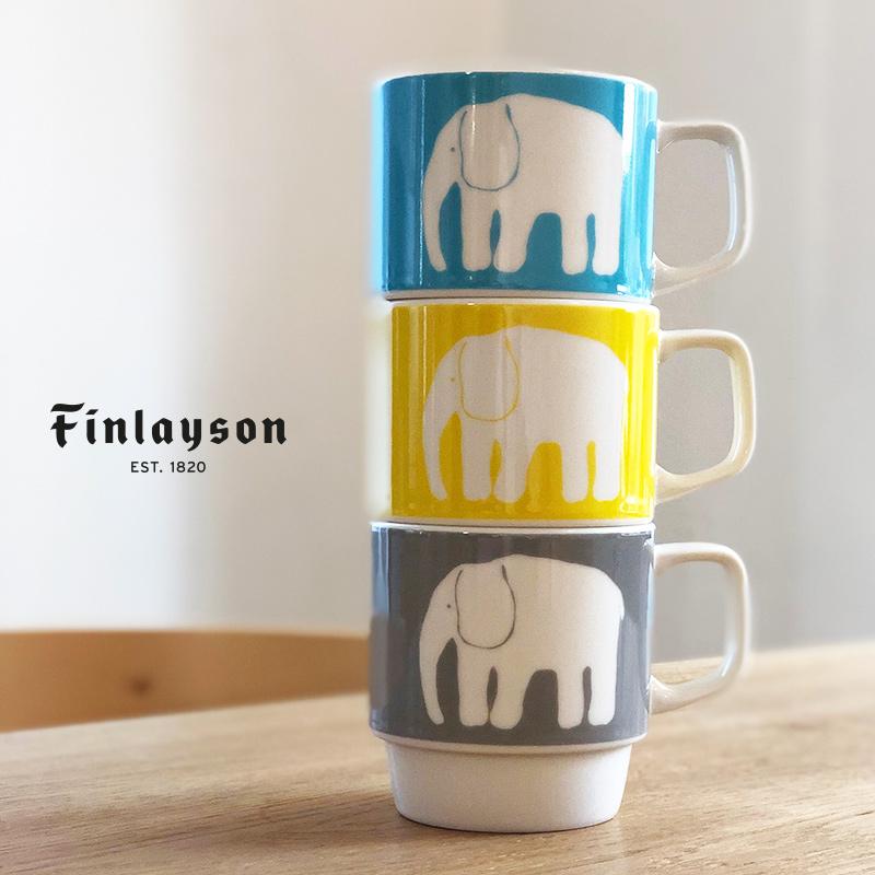 エレファンティ 50周年限定デザイン マグ  | フィンレイソン Finlayson