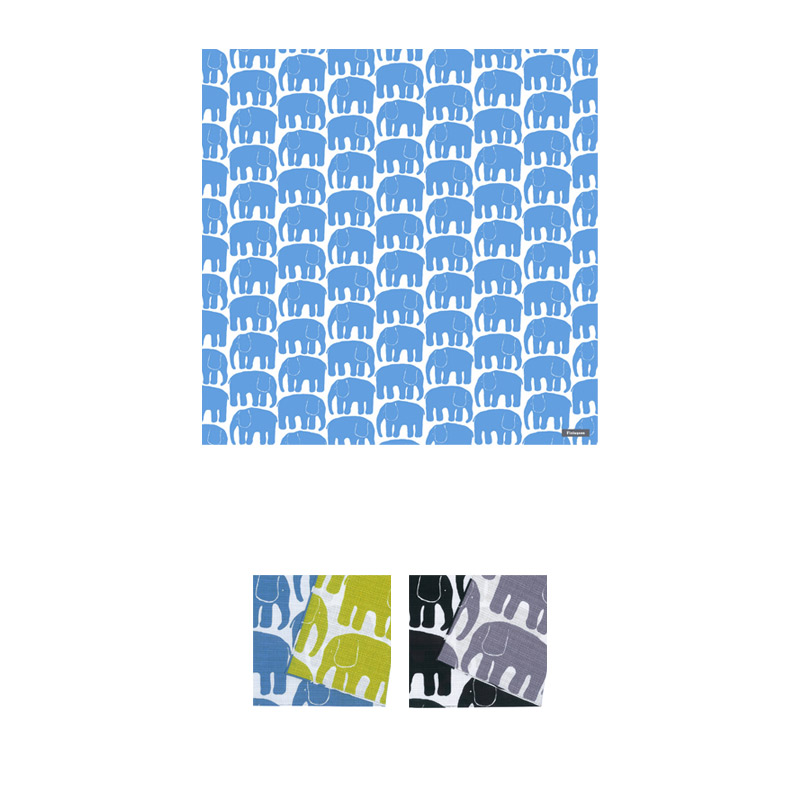風呂敷 105cm クロス ELEFANTTI | フィンレイソン Finlayson【メール便発送可能】