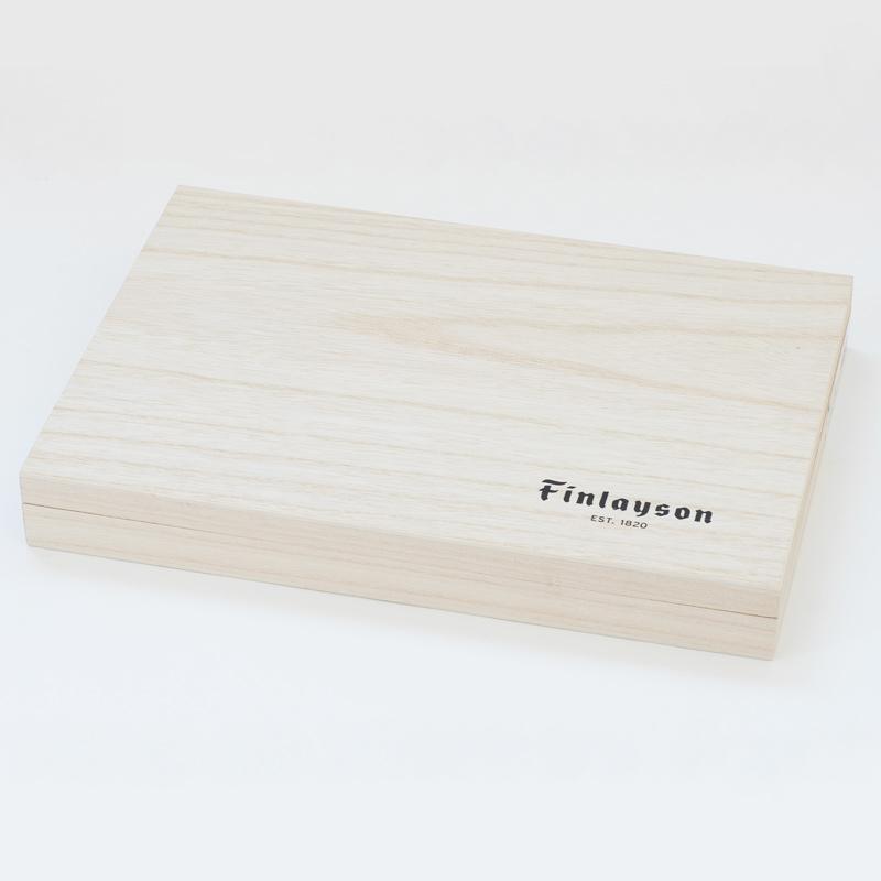 木箱入豆皿揃 コロナ、エレファンティ、アヤトス   フィンレイソン Finlayson