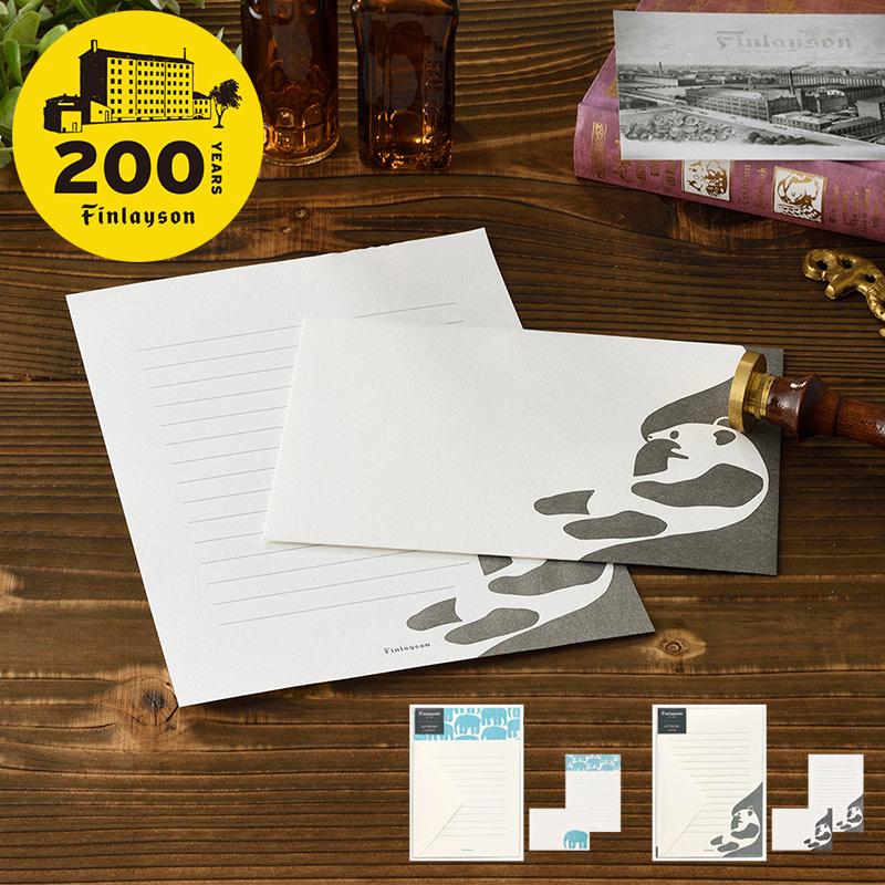 レターセット A5 活版印刷 | フィンレイソン Finlayson