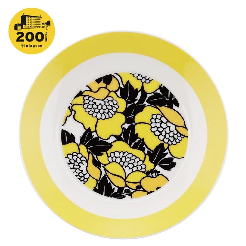 200周年記念デザイン 19cm プレート ANNUKKA | フィンレイソン Finlayson