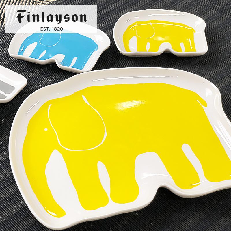 エレファンティ50th限定デザイン アニバーサリープレート 大皿   フィンレイソン Finlayson