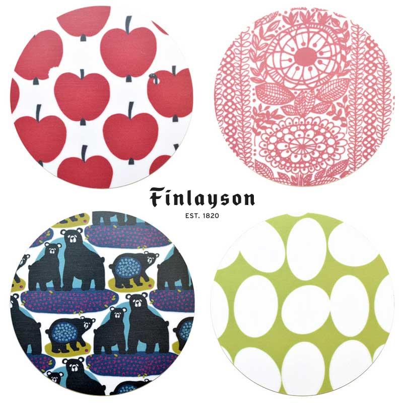 コースター 2枚組 フラットタイプ | フィンレイソン Finlayson