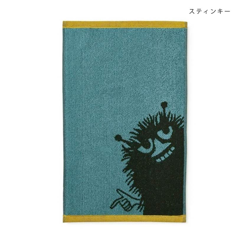 ムーミン ファミリー タオル 30×50cm  Finlayson(フィンレイソン)【メール便可】