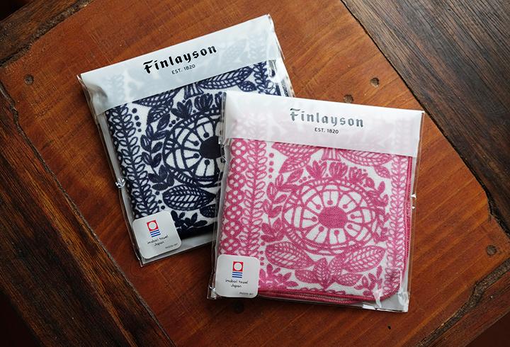 ミニテリー ミニタオル ハンドタオル | Finlayson フィンレイソン