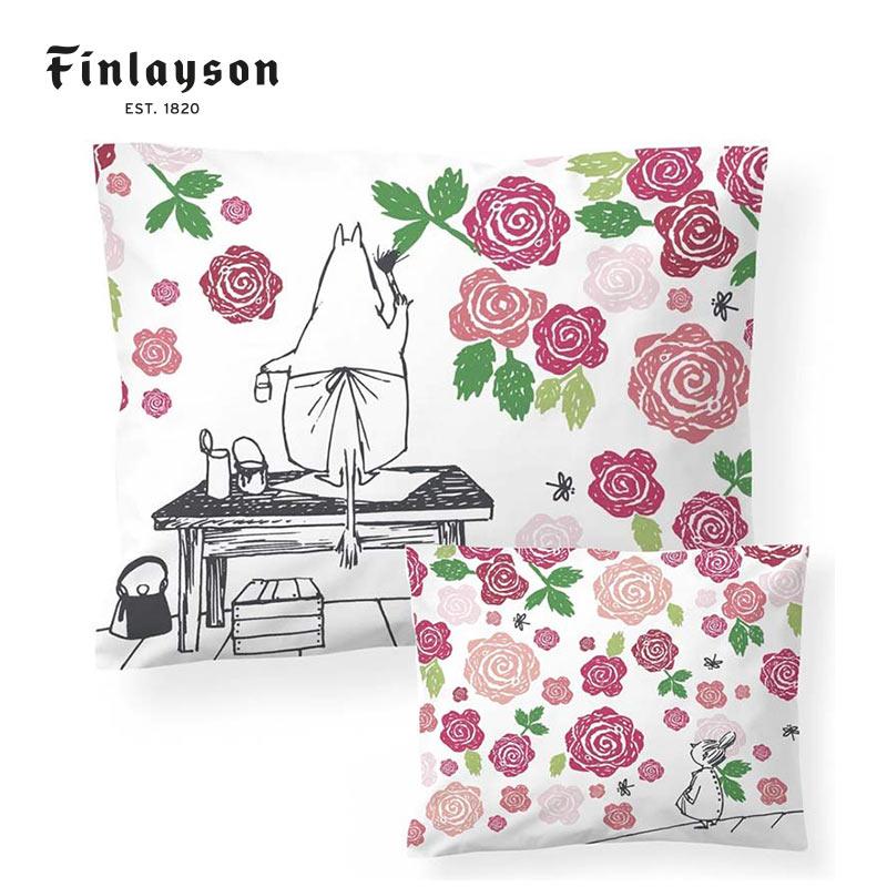 ピローケース MOOMIN / ムーミンママ RUUSUTARHA | Finlayson(フィンレイソン)【メール便可】