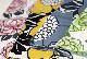 てぬぐい ANNUKKA 2色 イエロー / グレー Finlayson(フィンレイソン)【メール便可】