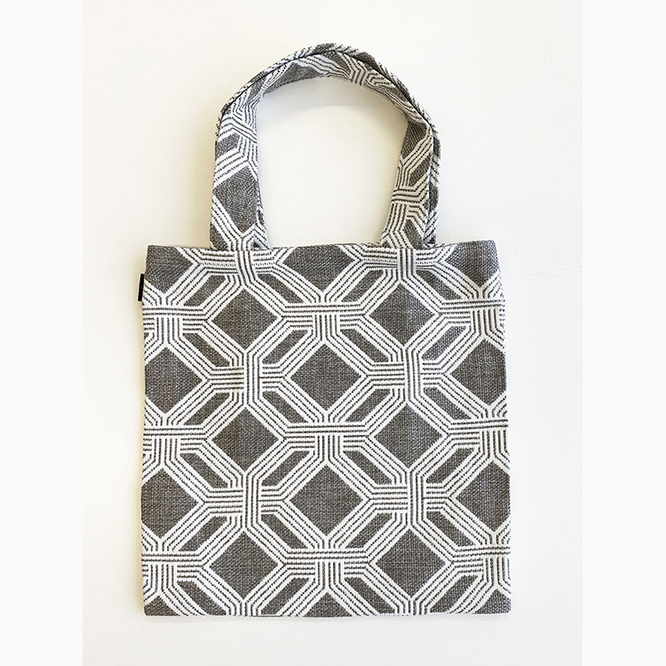 【SOLD OUT】HAGIRE BAG GEOMETRICO grey (BAG 2020AW-05)