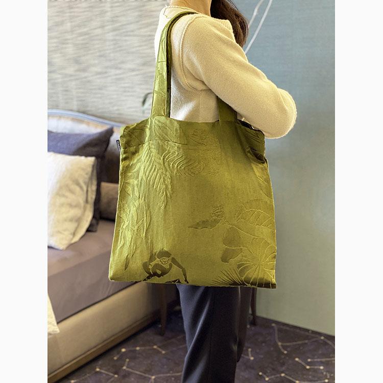 【SOLD OUT】HAGIRE BAG JANGALA grassgreen (BAG 2020AW-06)