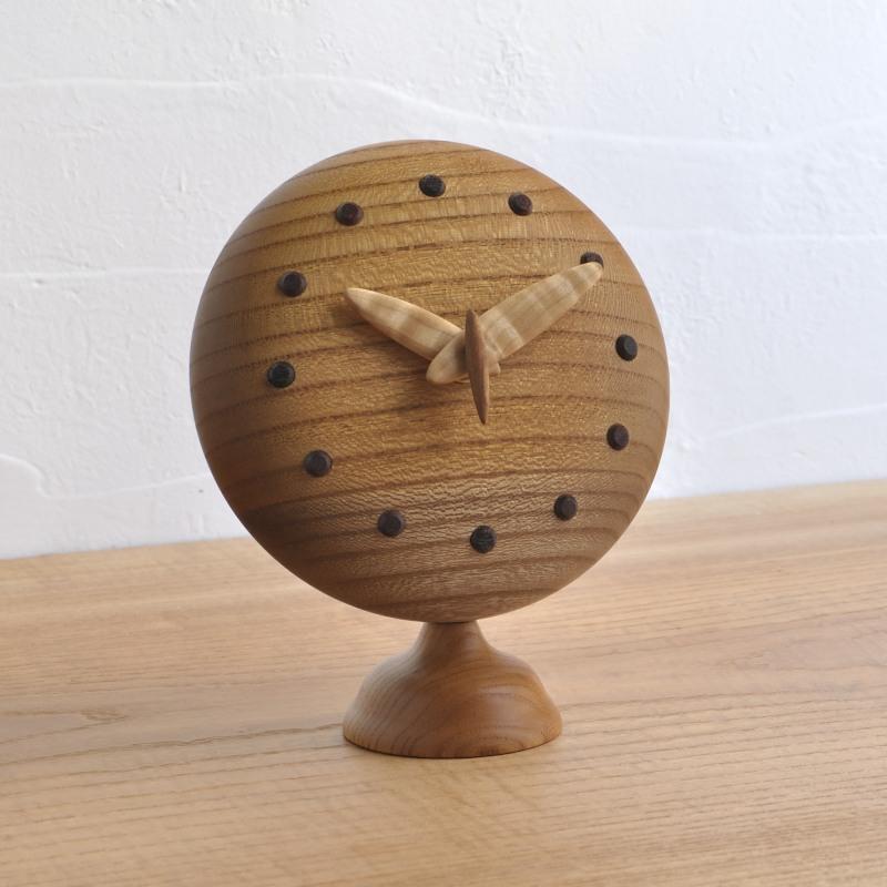 ぷっくりキュートな置き時計 一点もの