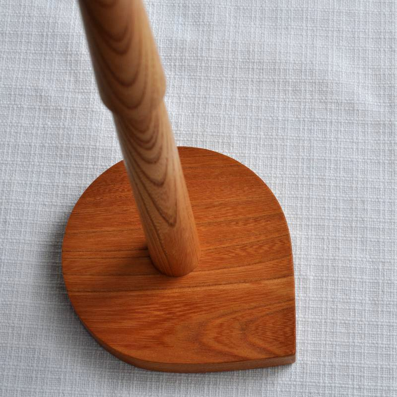 欅の木のキッチンペーパーホルダー