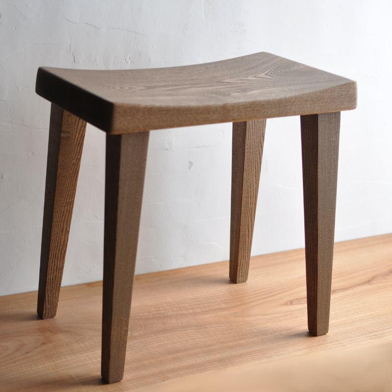 木製スツール タモ