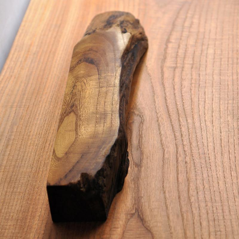 クワの自然木 飾り台 一点もの