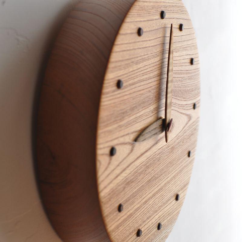 ケヤキ時計 一点もの