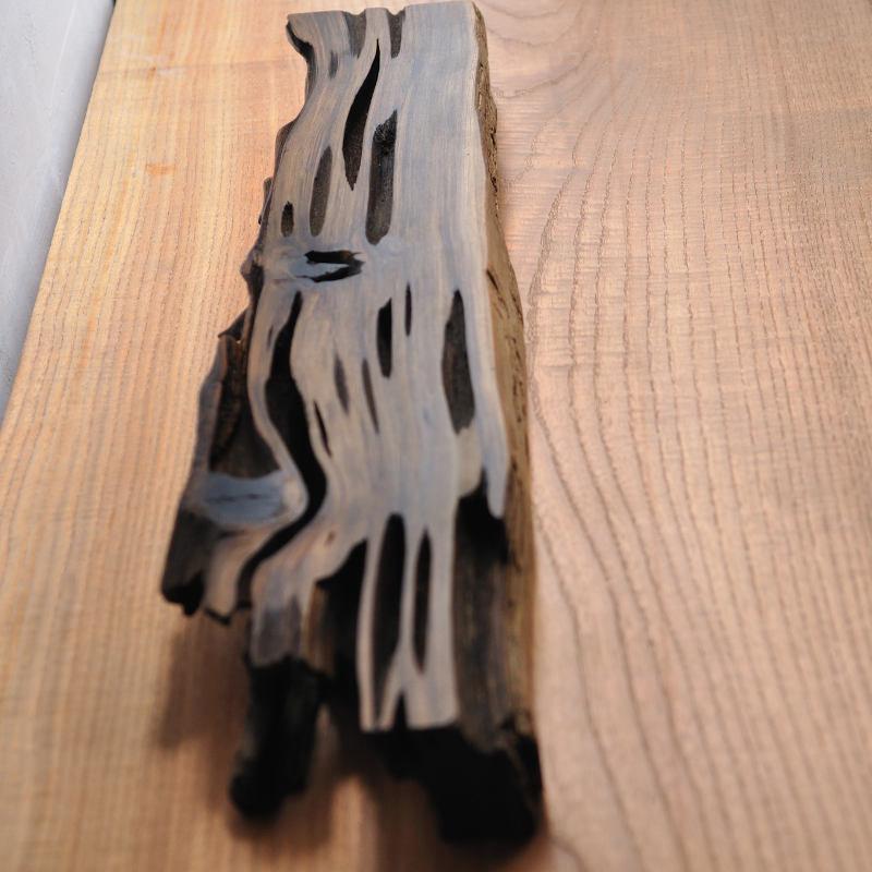 神代杉の自然木 飾り台 一点もの