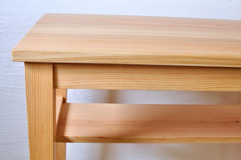 ヒノキの家事机 カウンターテーブル