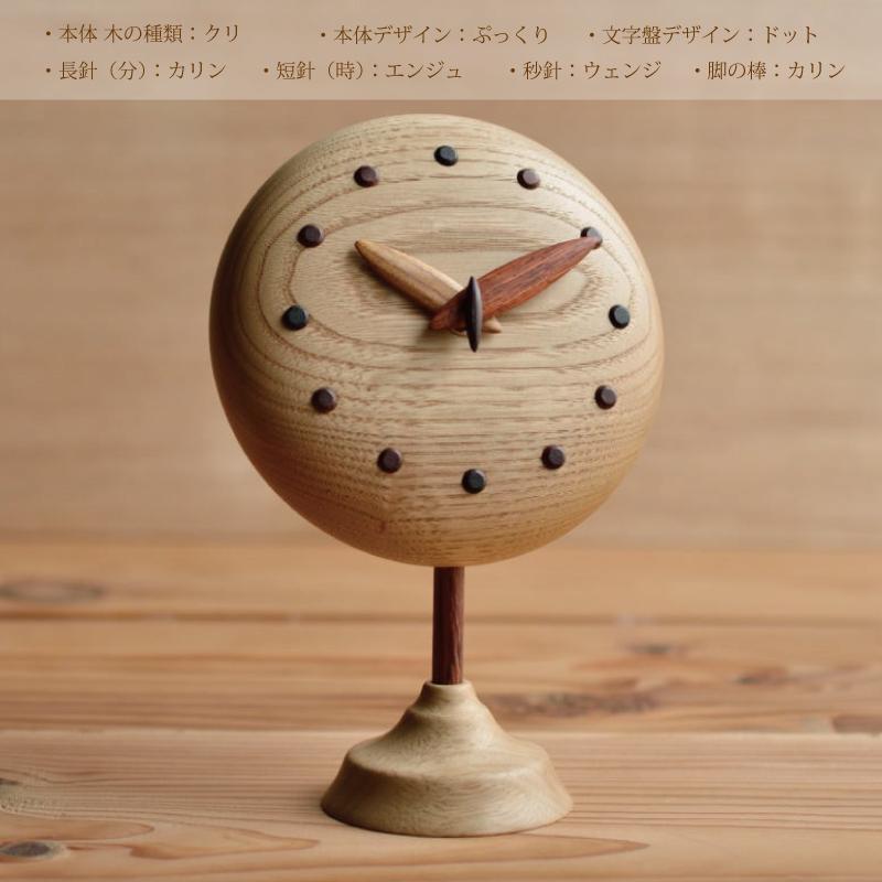 ぷっくりキュートな手作り時計 カスタムオーダーメイド